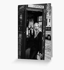 Feminin[c]ity - London Greeting Card