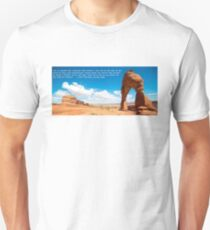 Kerouac's On the Road in Utah Unisex T-Shirt