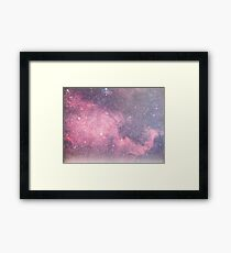Space in Space Framed Print