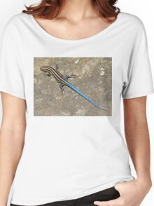 Blue Tailed Lizard I Women's Relaxed Fit T-Shirt