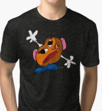 Mr. Potato Head as a Picasso Tri-blend T-Shirt