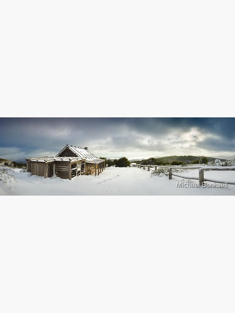 Craigs Hut Winter Morning, Mt Stirling, Victoria, Australia by Chockstone