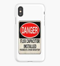 Logo-Flux Capacitor iPhone Case