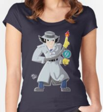 The Inspector Women's Fitted Scoop T-Shirt