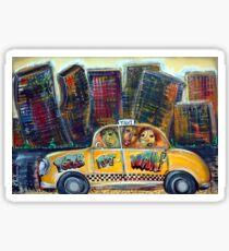 Taxi  Sticker