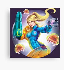 Zero Suit Canvas Print