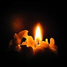 A silent candle light by Irina777