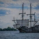 El Galeon at Toronto's Waterfront Festival 2016 by Gerda Grice