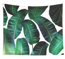 Cosmic Banana Leaves #redbubble #lifestyle Wall Tapestry