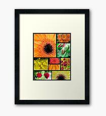 Macro Flowers Framed Print