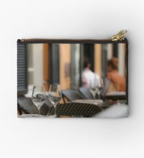 Atmospheric image of an outdoor cafe  Studio Pouch