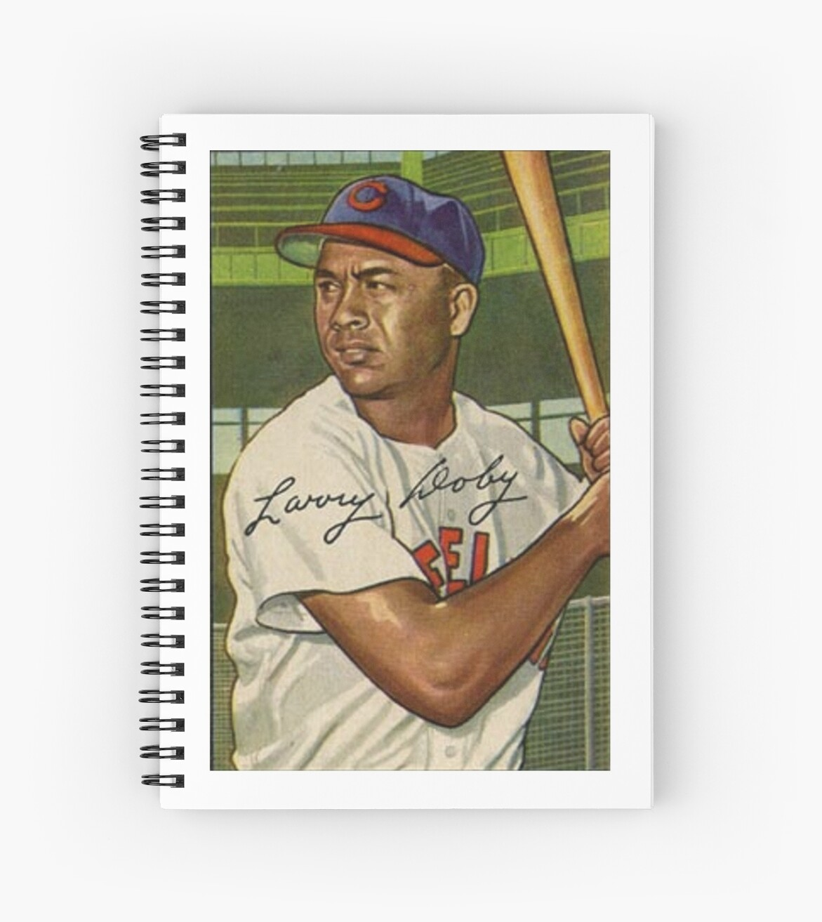 Larry Doby 1951 Baseball Card