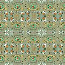Flower in the Sky Pattern by Janet Antepara