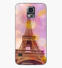 Eiffel Tower Sunset Case/Skin for Samsung Galaxy