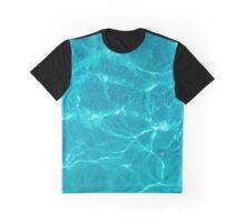 Water Texture VI - Dark Version Graphic T-Shirt