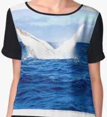 whale watch Chiffon Top