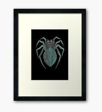 Die Spinne Framed Print