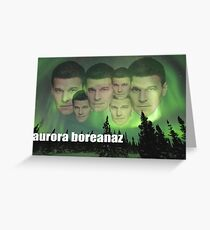 Aurora Boreanaz Greeting Card