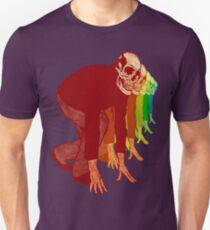 Racing Rainbow Skelette Unisex T-Shirt