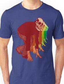 Racing Rainbow Skeletons Unisex T-Shirt