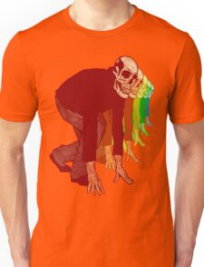 Racing Rainbow Skeletons Unisex T-Shirt