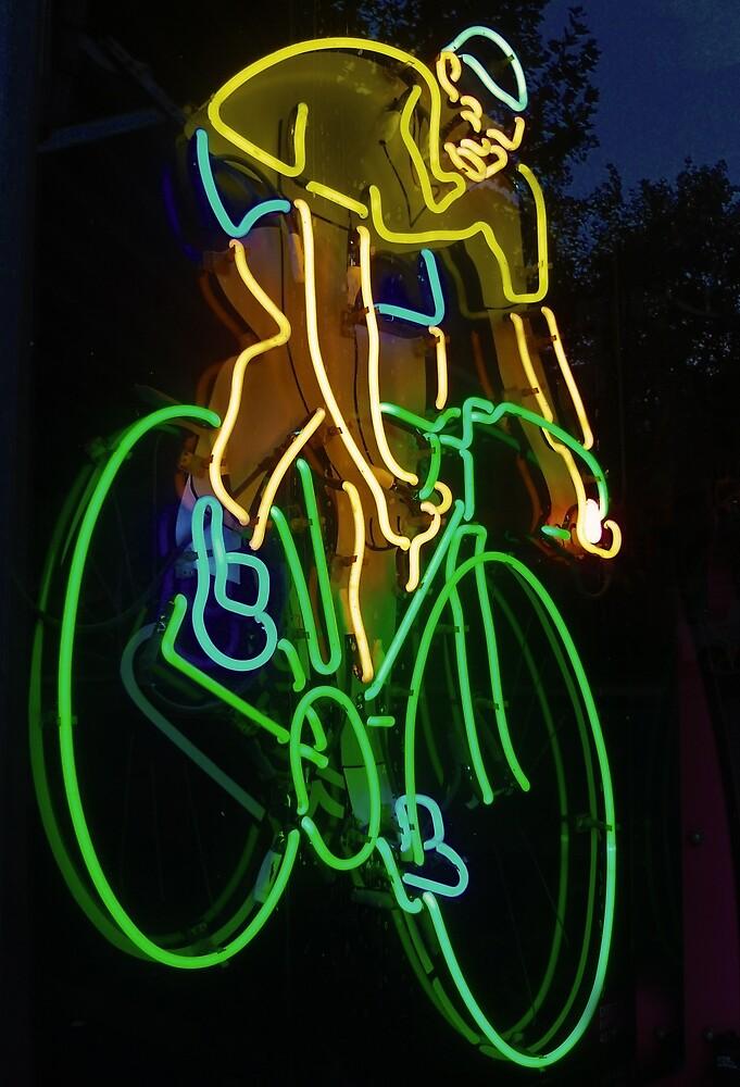 Neon Rider by TonyCrehan