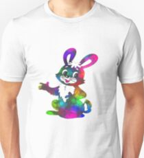 coloured bunny T-Shirt