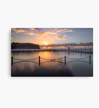 Bilgola Beach Sunrise Metal Print