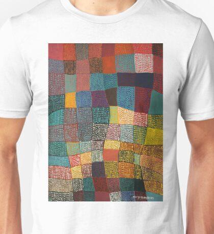 Dot Patchwork Landscape T-Shirt