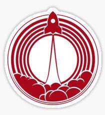 Startup Rocket Sticker