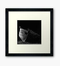 La vieille barque Framed Print
