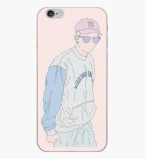 BTS Rap Monster Fashion Lineart #1 iPhone Case