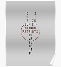 The Patriots Poster