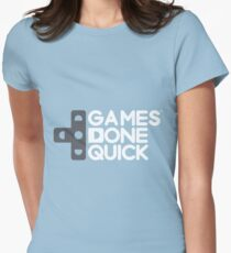 Games Done Quick (GDQ) Womens Fitted T-Shirt