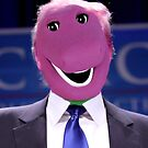 trump the purple dinosaur by actualfox