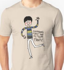 Tight Pants - cartoon T-Shirt