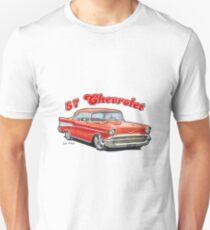 1957 Chevrolet Bel Air Design T-Shirt