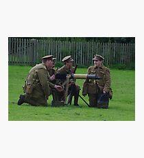 Vickers Machine Gun Crew Photographic Print