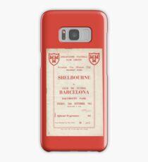 SHELBOURNE VS BARCELONA - PROGRAMME COVER  Samsung Galaxy Case/Skin