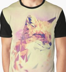 Geometric Fox Graphic T-Shirt
