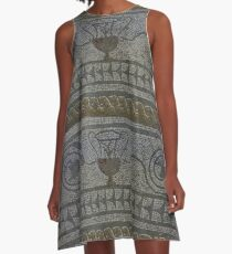 Fishbourne Extract A-Line Dress