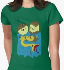Bubblegum's Rock Shirt V1 Womens Fitted T-Shirt