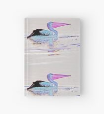 Serenity on the Lake at Dusk Hardcover Journal