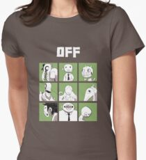 OFF - The complete crew Women's Fitted T-Shirt