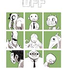 OFF - The complete crew by mortisghost