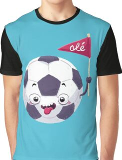 Football Face Graphic T-Shirt