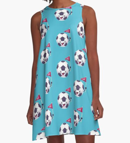 Football Face A-Line Dress