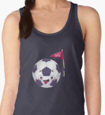 Football Face Tanktop für Frauen