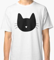 Cat Heart Nose Classic T-Shirt