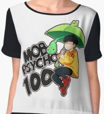 Mob Psycho 100 - Umbrella Frog Chiffon Top